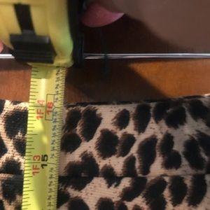 scobe Skirts - Scobe leopard short skater circle skirt